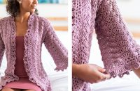 Crochet Art Deco Dressing Gown [FREE Crochet Pattern] | thecrochetfox.com