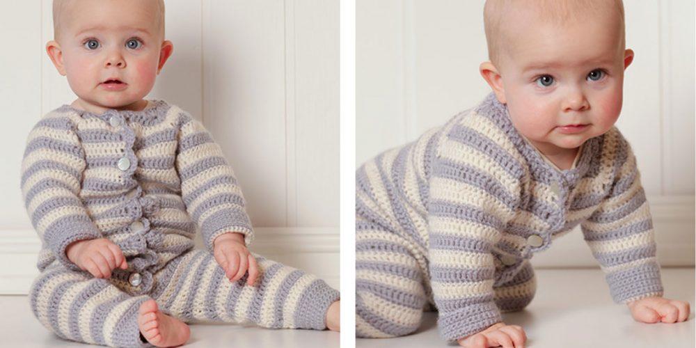 Baby Blues Crochet Overall [FREE Crochet Pattern] | thecrochetfox.com
