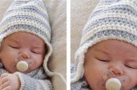 Baby Blues Hat [FREE Crochet Pattern]   thecrochetfox.com