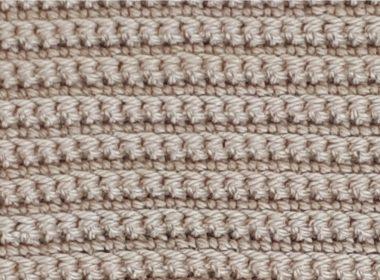 Back Loop Single Crochet Stitch [FREE Crochet Stitch Pattern] | thecrochetfox.com