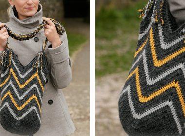 Bee the Best Crochet Bag [FREE Crochet Pattern] | thecrochetfox.com
