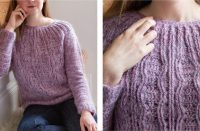 Lovely Belleville Crochet Sweater | thecrochetfox.com