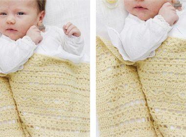 Blooming Lily Crocheted Blanket [FREE Crochet Pattern] | thecrochetfox.com