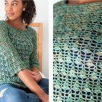 Blossom Crocheted Blouse [FREE Crochet Pattern]