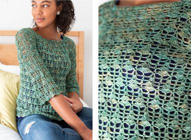 Blossom Crocheted Blouse [FREE Crochet Pattern] | thecrochetfox.com