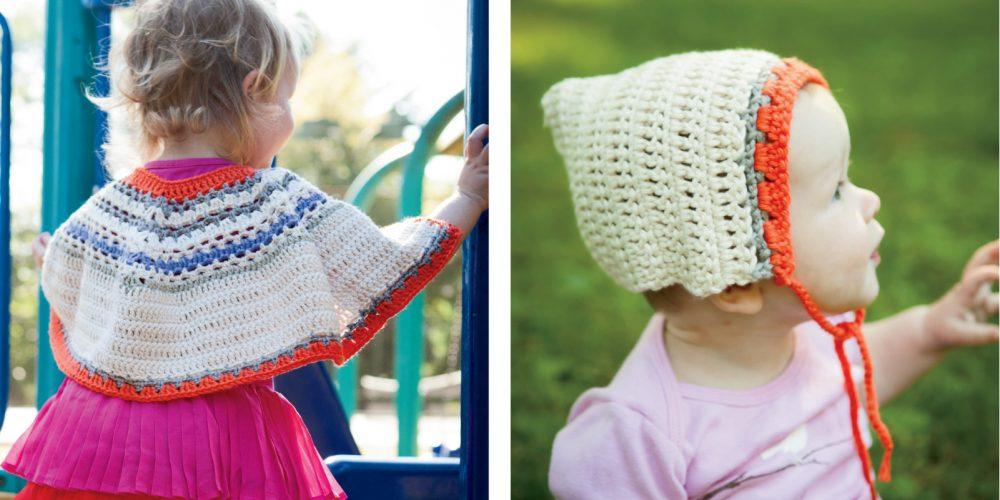 Bouquet Poncho Crochet Set [FREE Crochet Pattern] | thecrochetfox.com