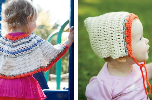 Bouquet Poncho Crochet Set [FREE Crochet Pattern]   thecrochetfox.com