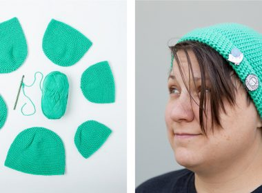 Brava Crochet Hat [FREE Crochet Pattern] | thecrochetfox.com