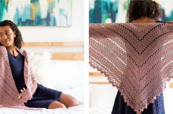 Bridesmaid Crocheted Shawl [FREE Crochet Pattern] | thecrochetfox.com