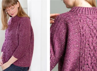 Canby Ferry Cabled Pullover [FREE Crochet Pattern] | thecrochetfox.com