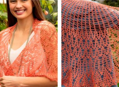 Canopy Shawl Pattern [FREE Crochet Pattern] | thecrochetfox.com