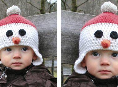 Carrot Nose Cutie Hat [FREE Crochet Pattern] | thecrochetfox.com