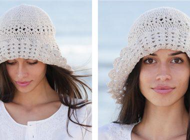 Chic Capeline Crochet Hat [FREE Crochet Pattern] | thecrochetfox.com