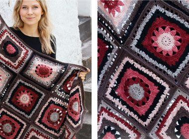 Chocolate Box Crocheted Blanket [FREE Crochet Pattern]   thecrochetfox.com