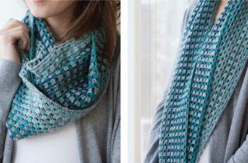 Chroma Crochet Cowl [FREE Crochet Pattern] | thecrochetfox.com