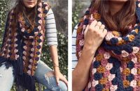 Crocheted Color Pop Super Scarf [FREE Crochet Pattern] | thecrochetfox.com