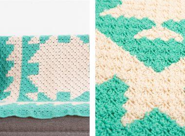 Corner to Corner Afghan [FREE Crochet Pattern] | thecrochetfox.com
