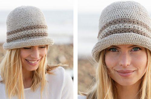 Crisp Summer Crochet Hat [FREE Crochet Pattern] | thecrochetfox.com