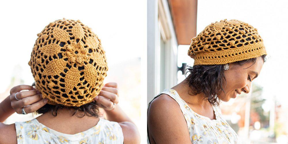 Crochet Daisy Mandala Beanie [FREE Crochet Pattern]   thecrochetfox.com