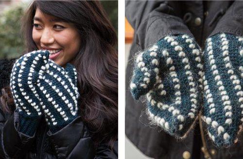 Crochet Thrummed Mittens [FREE Crochet Pattern]   thecrochetfox.com