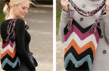 Crocheted Beach Bonfire Bag [FREE Crochet Pattern]   thecrochetfox.com