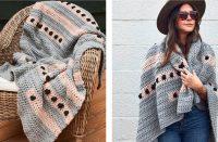 Dot to Dot Crochet Lapghan [FREE Crochet Pattern]   thecrochetfox.com