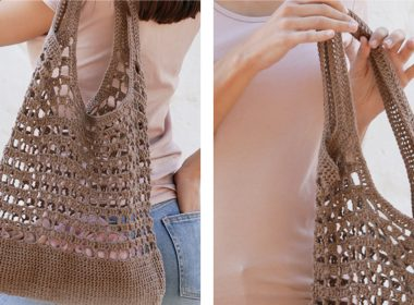 Eco Crochet Tote Bag [FREE Crochet Pattern] | thecrochetfox.com
