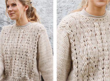 Enchanted Underwood Crochet Sweater [FREE Crochet Pattern] | thecrochetfox.com