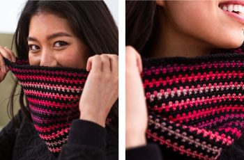 Fascinating Facets Cowl [FREE Crochet Pattern] | thecrochetfox.com