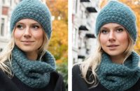 Fields of Blue Crochet Set [FREE Crochet Pattern]   thecrochetfox.com