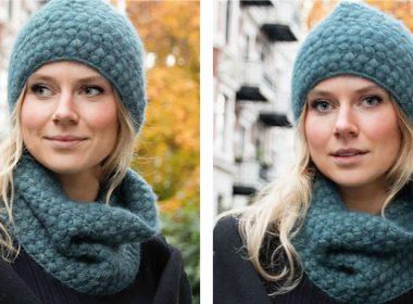 Fields of Blue Crochet Set [FREE Crochet Pattern] | thecrochetfox.com