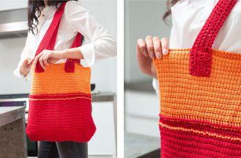 Fiesta Crochet Tote Bag [FREE Crochet Pattern]   thecrochetfox.com