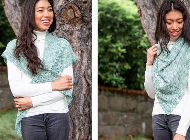 Forest of Dean Shawl [FREE Crochet Pattern] | thecrochetfox.com