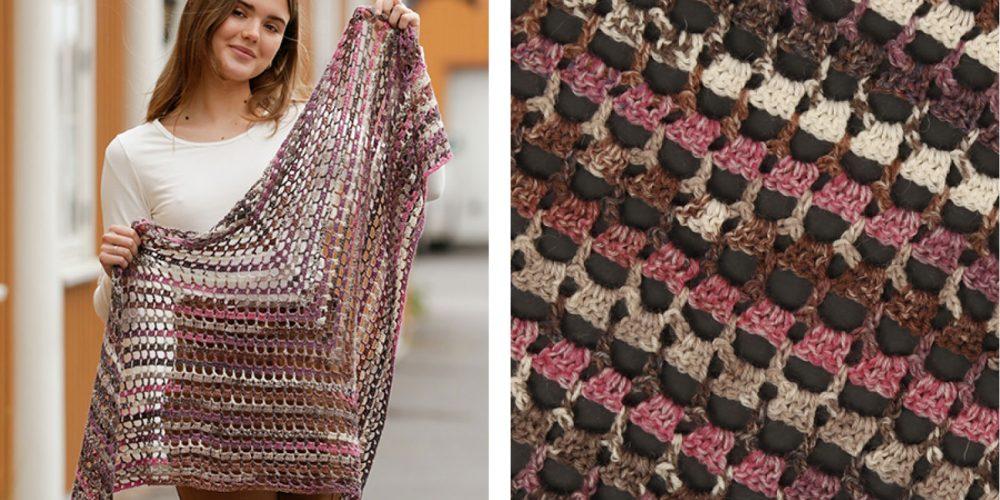 Fragrance of Fall Crochet Shawl [FREE Crochet Pattern] | thecrochetfox.com