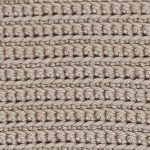 Front and Back Loop Single Crochet Stitch [FREE Crochet Stitch Pattern]