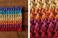 Bubbly Fruity Loops Crochet Dishcloth [FREE Crochet Pattern] | thecrochetfox.com