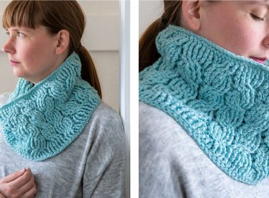 Furnicular Crochet Cowl [FREE Crochet Pattern]   thecrochetfox.com