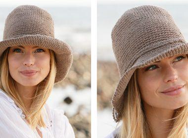 Garden Girl Hat [FREE Crochet Pattern] | thecrochetfox.com