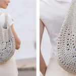 Lovely Lace Garden Paths Crochet Bag [FREE Crochet Pattern]