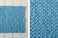 Icy Glacial Crochet Spa Cloth [FREE Crochet Pattern] | thecrochetfox.com