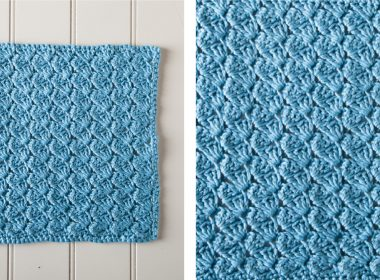 Icy Glacial Crochet Spa Cloth [FREE Crochet Pattern] | thecrochetfox.com