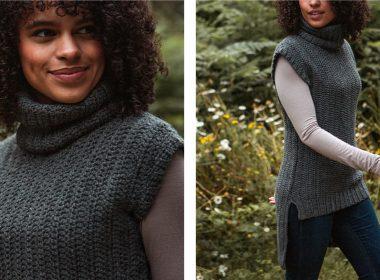 Gorgeous Betulla Crochet Tunic [FREE Crochet Pattern] | thecrochetfox.com