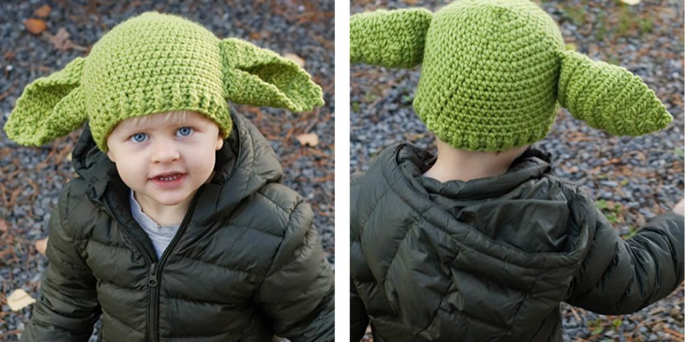 Green Ears Kiddie Hat [FREE Crochet Pattern] | thecrochetfox.com