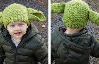 Green Ears Kiddie Hat [FREE Crochet Pattern]   thecrochetfox.com