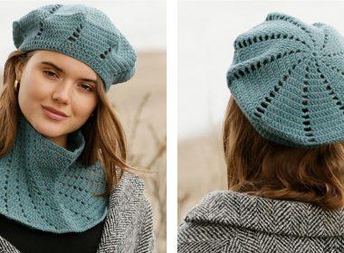 Green Gables Crochet Set [FREE Crochet Pattern] | thecrochetfox.com