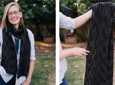 Half Double Preciosa Crochet Scarf [FREE Crochet Pattern]   thecrochetfox.com