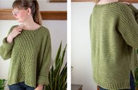 Hastings Crochet Cabled Sweater [FREE Crochet Pattern] | thecrochetfox.com
