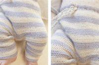 Heartthrob Crochet Baby Pants [FREE Crochet Pattern] | thecrochetfox.com