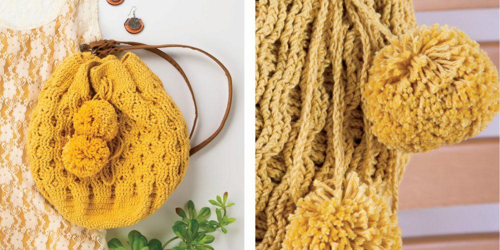 Honeycomb Crocheted Backpack [FREE Crochet Pattern] | thecrochetfox.com