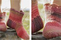 Hotstepper Crochet Slippers [FREE Crochet Pattern] | thecrochetfox.com